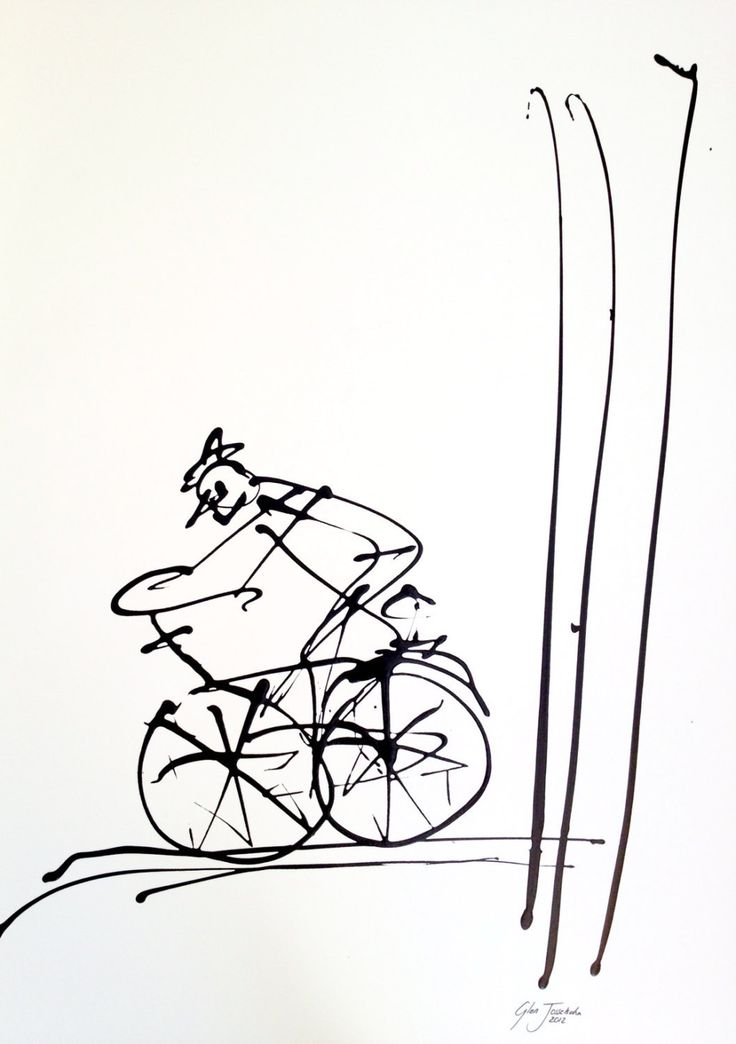 Glen Josselsohn's Cyclists by GlenJosselsohnArt on Etsy