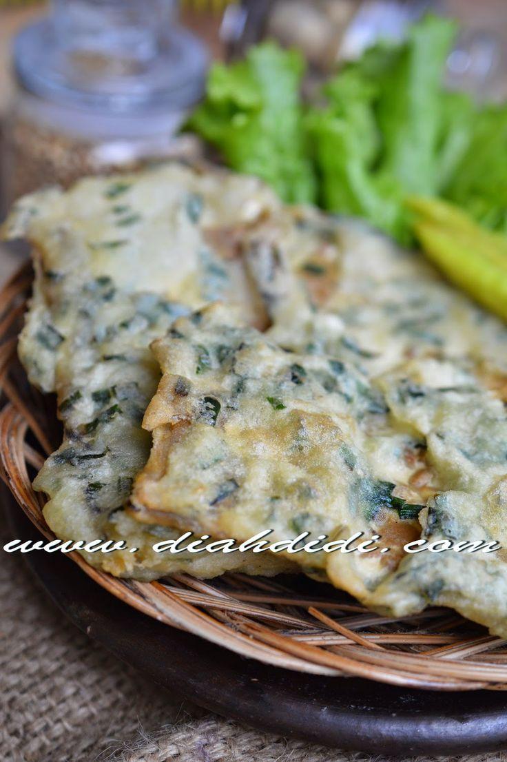 Diah Didi's Kitchen: Mendoan Daun Kucai