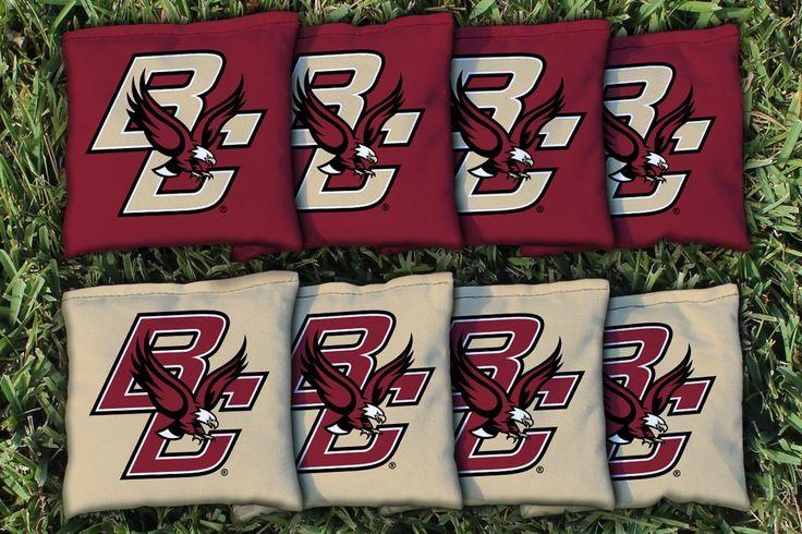Boston College Eagles Team Logo Cornhole Replacement Bag Set