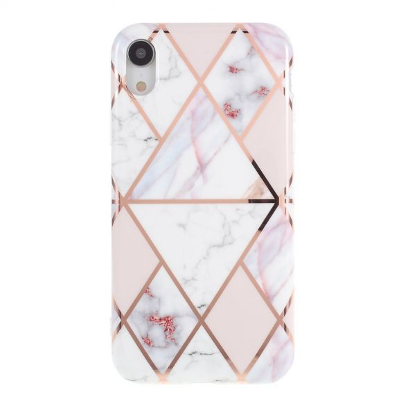 Coque iPhone XR Marbre Géométrique | Iphone, Phone cases, Iphone cases
