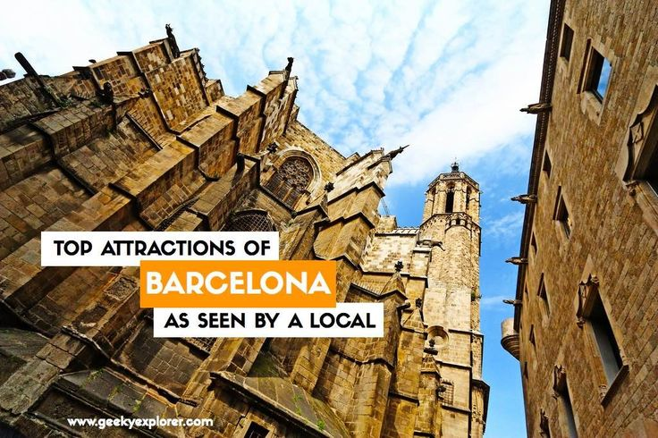 How are the top tourist attractions of Barcelona seen by a local?   Find out ---> http://www.geekyexplorer.com/which-top-tourist-attractions-of-barcelona-are-worth-it/