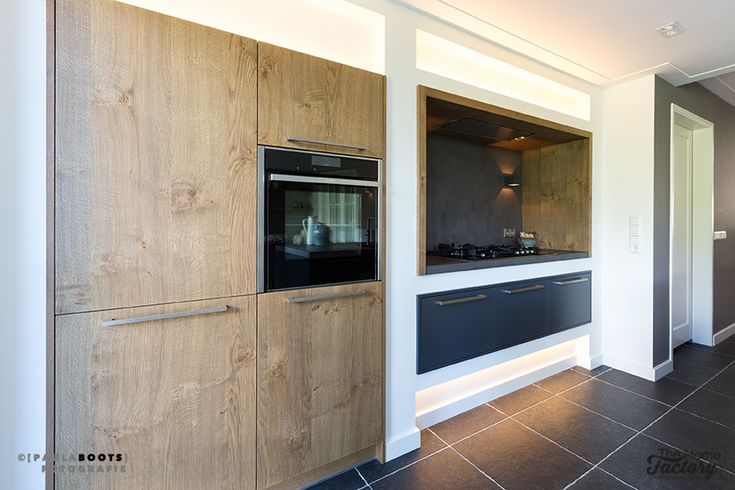 Ontwerp & Realisatie woonkamer en keuken Bunschoten