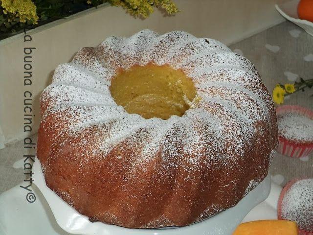 La buona cucina di Katty: Torta zucca e mandorle super soffice - Pumpkin cake and almond super soft
