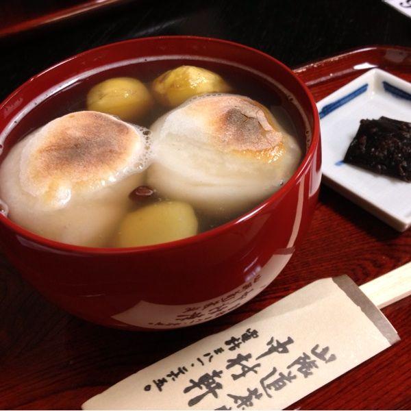 中村軒 : 栗ぜんざい #Japanese #Sweets