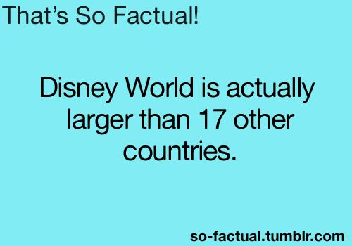 It's a Small World compared to Disney!