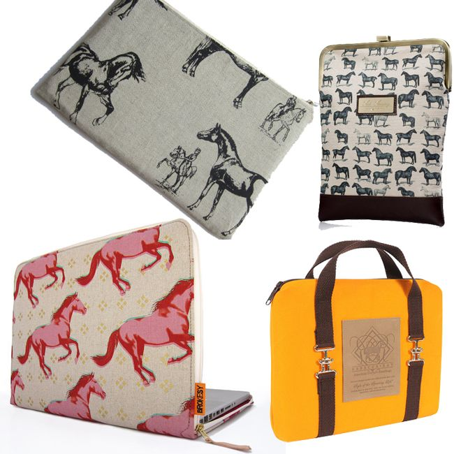 8 Equestrian Tablet and Laptop Cases | Horses & Heels