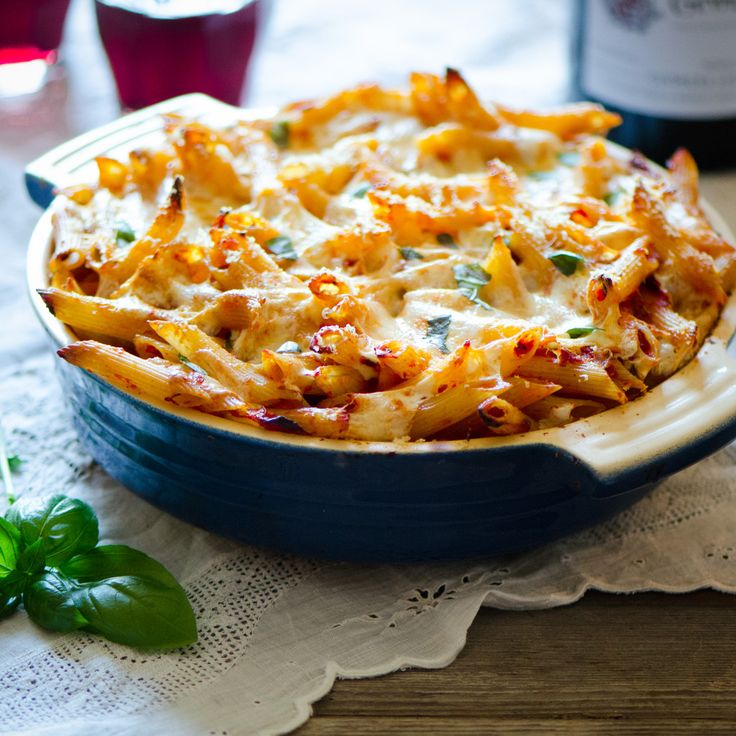 Baked Penne Vodka | Many Kitchens