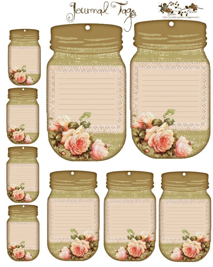 These can be used as journal pages, gift tags, (scaled down to print), or perhaps into mini note pads.