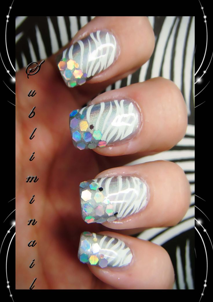 Nail art sunlight