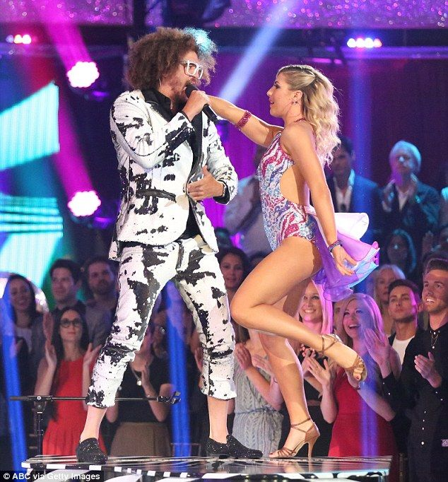 First eliminated: Redfoo returned to perform after being the first star to be eliminated during the season