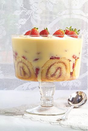 Homemade custard will make the best trifle. Do go to the effort for this classic version.