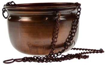 Hanging Copper Cauldron & Ritual Vessel