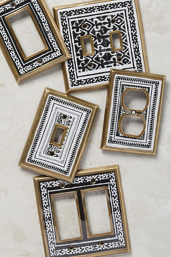 Anthropologie | Rosita Light Switch Plate