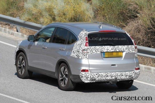 Spy Photos: restyalingovy 2018-2019 Honda CR-V was tested in Europe
