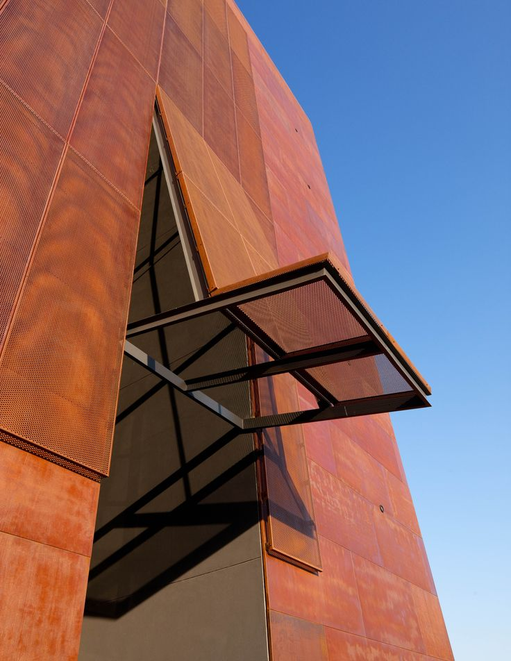 acero corten perforado y flat products i love pinterest corten steel facades and