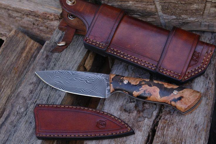 Messermacher Bady 2.0 – Maple   Steffen Meyer – Messermacher - Feine handgefertigte Küchenmesser, Jagdmesser, Outdoormesser, Gebrauchsmesser und Badlander Modelle.