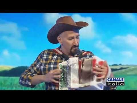 Super POLKA DEL TRILLO, ENZO SCACCHIA in diretta Tv CANALE ITALIA. organetto diatonico acordeon - YouTube