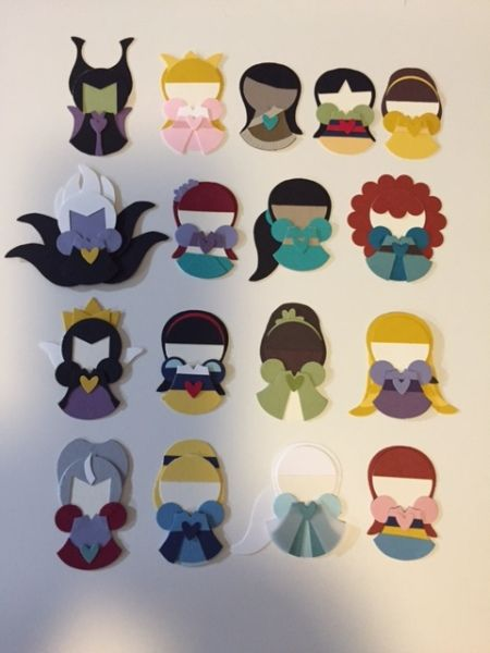Disney Owl Punch Princesses and Villans from the talented Monica Young