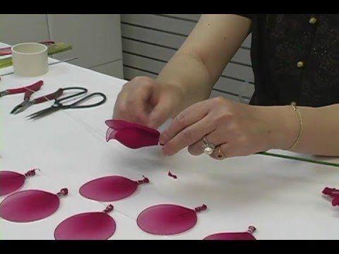 How To Make Nylon Flowers Tutorial Video blisswonders.com