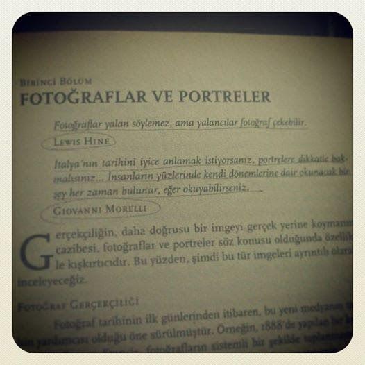 Fotoğraflar yalan söylemez ama yalancılar fotoğraf çekebilir.