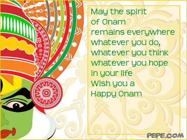 best Onam wishes images