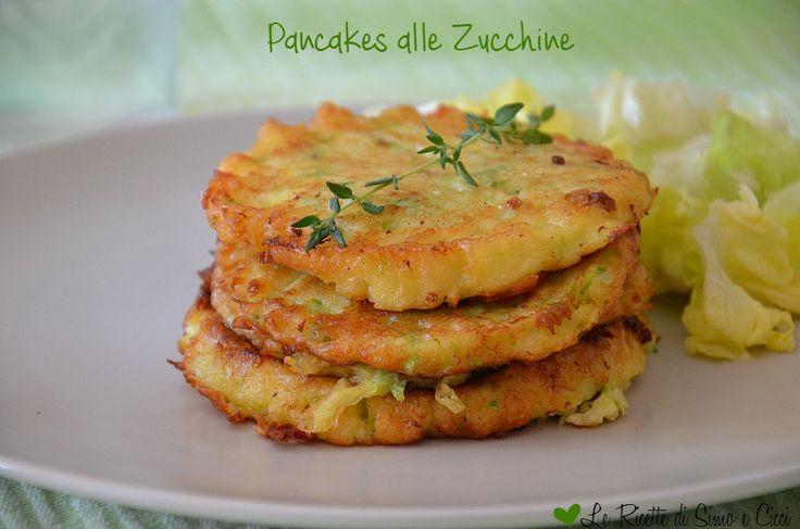 I Pancakes alle Zucchine sono uno sfizioso antipasto,una variante salata dei famosi pancakes americani. Sono delle semplici frittelle arricc