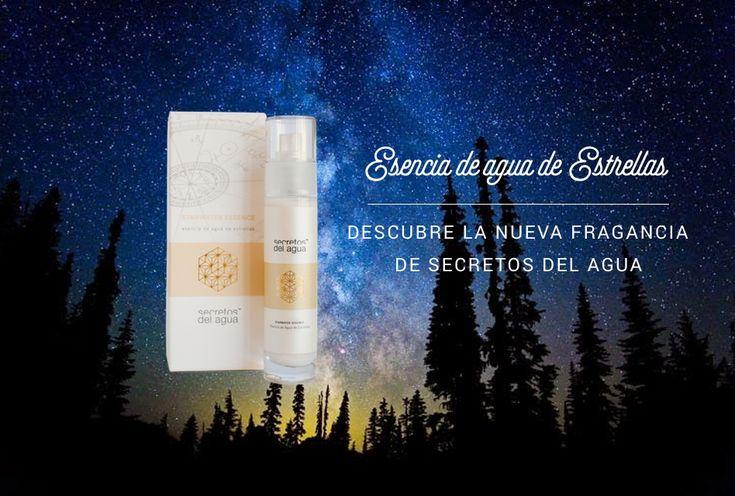 Esencia de Agua de Estrellas, el perfume de Secretos del Agua. Por fín un perfume de esta marca que basa todos sus productos en el agua Biopolar.