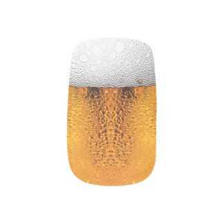 Beer Pint October Festival Stein Amber Minx Nail Wraps #affiliate #ad
