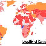 Mapa del estado legal de la marihuana en el mundo (INFOGRÁFICO)