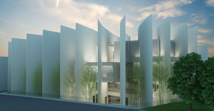 Daegu Gosan Public Library Competition Entry / Ghirardelli Architetti