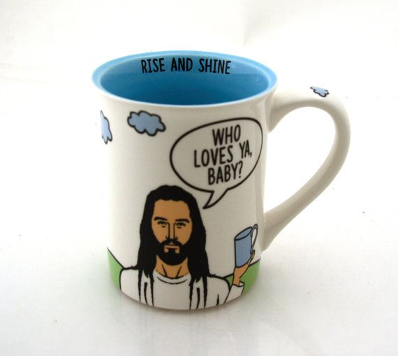 surprising inspiration awesome mugs. Jesus Inspirational Mug Who Loves Ya Baby 123 best Just Mugs  images on Pinterest Classic monsters
