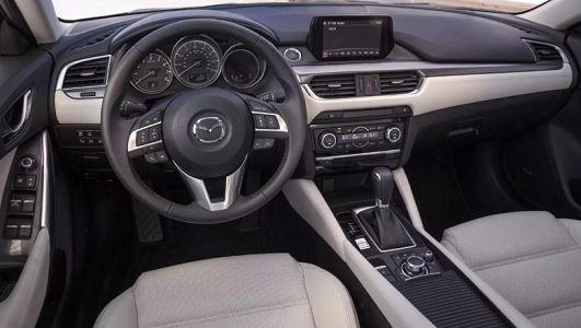 The 2018 Mazda 6 Interior.