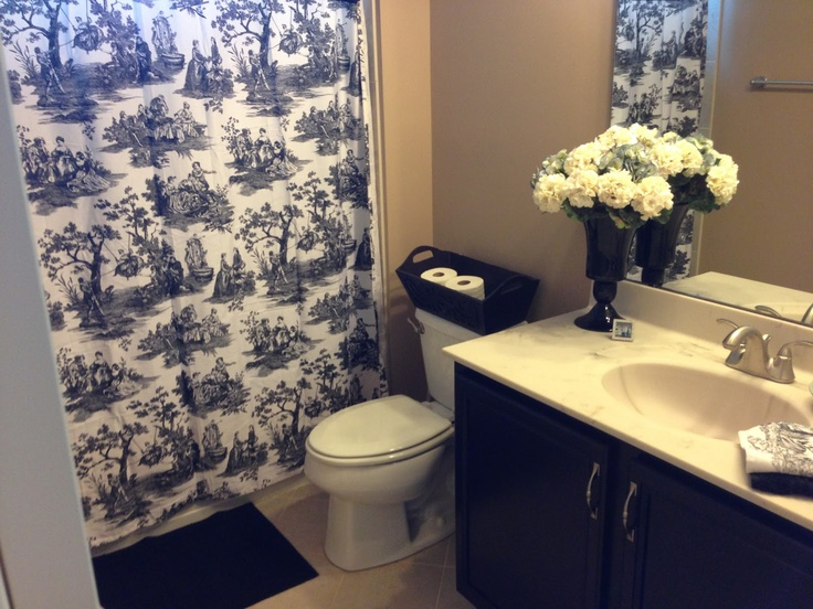 30 Best Black And White Toile Images On Pinterest Canvases