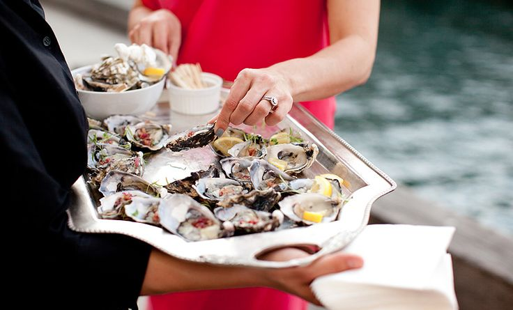 Pacific Oysters with Champagne Sabayon