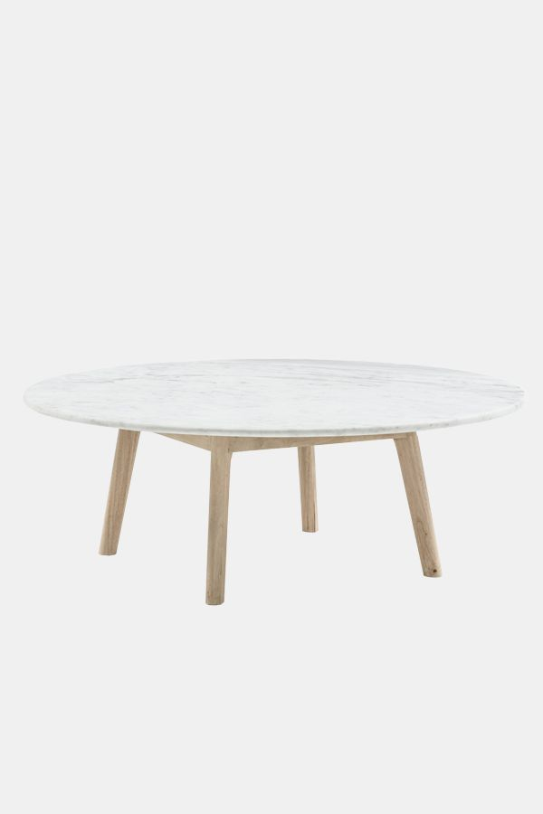 Harpers Project Marble Coffee Table - Low