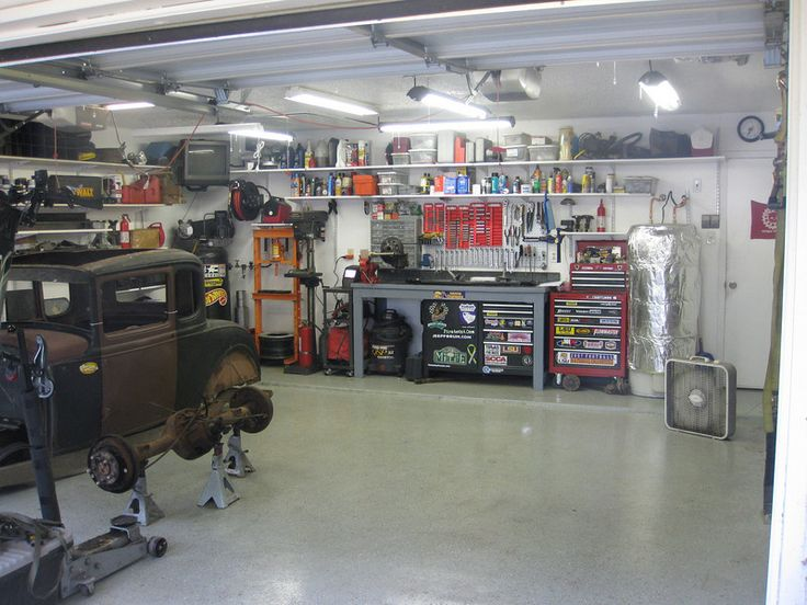 Getting The Most From A 2 Car Garage....On A Budget - The Garage Journal Board
