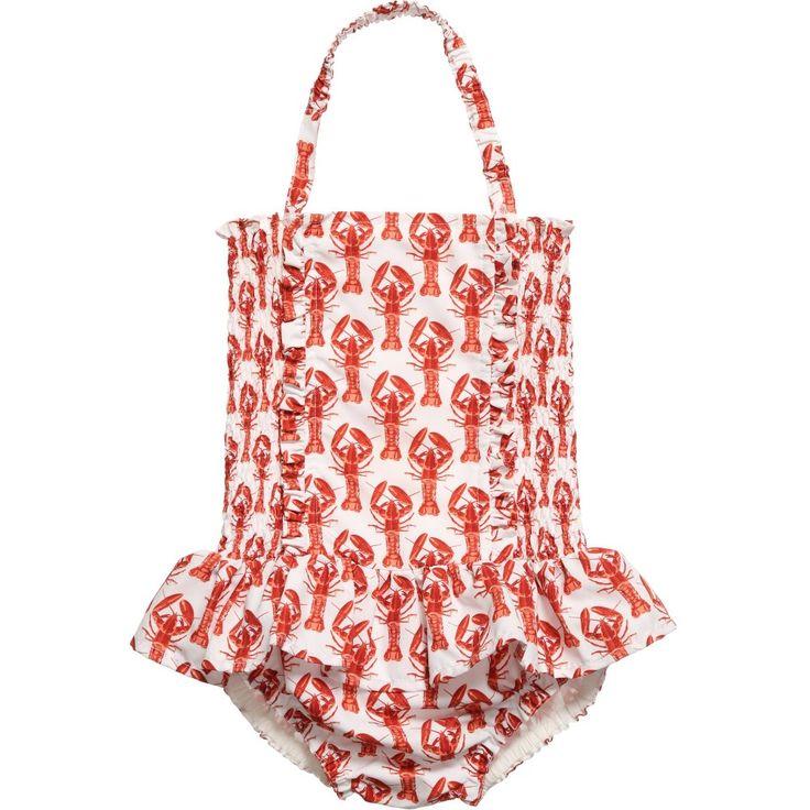 RACHEL RILEY Lobster Print Swimsuit