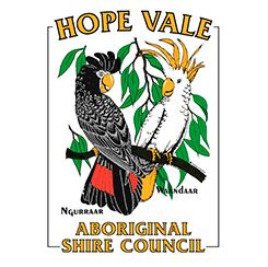 logo | Home: Hope Vale township is situated 46km north west of Cooktown and is located in a valley surrounded by tropical native bushland, mountain ranges, pristine coastal and diverse flora and fauna, Hope Vale has a population of approximatley 1500 people.Hope Vale is home to thirteen clan groups who mostly speak Guugu Yimithirr and other related languages, as well English.Hope Vale has a range of community services including:Community: Child Care Centre, Community Justice Group, Home…