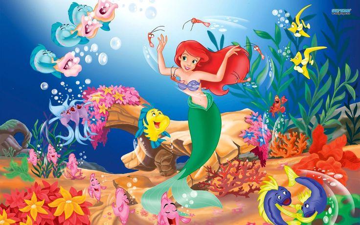 Little Mermaid Wallpaper 10244 Hd