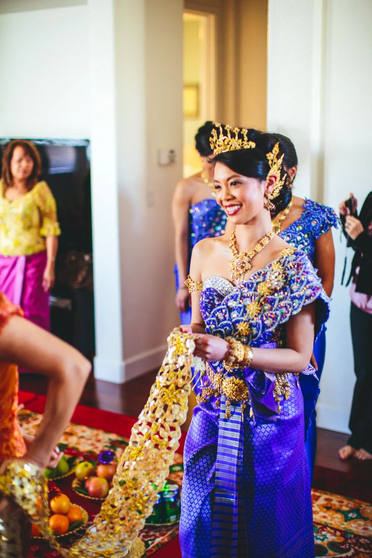 Niedlich Cambodian Brautkleider Galerie - Hochzeit Kleid Stile Ideen ...