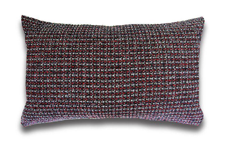 "Tweedle 90% Polyester, 10% Wool Cushion 14 x 20"""