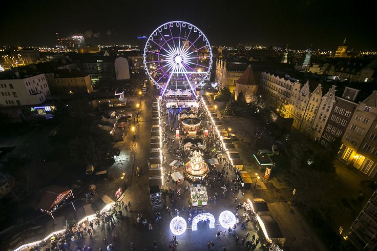 Christmas Market in Gdańsk  in December :D  fot. Lukasz Glowala