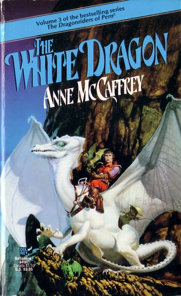 The Dragonriders of Pern.  If you want to get lost in different world, this is the series for you.