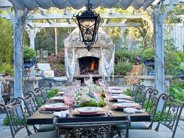 Explore your options for outdoor stone fireplaces, and prepare to install a sturdy and elegant outdoor fireplace in your external living space.