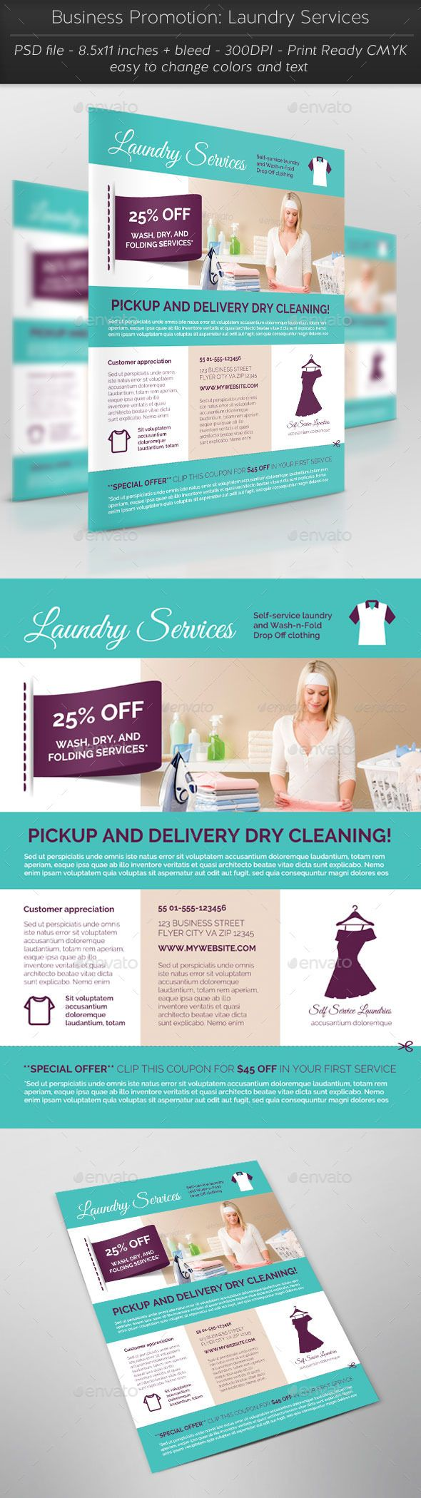 Business Promotion: Laundry Services