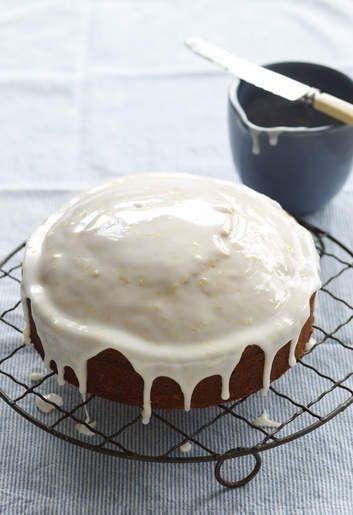 A light, lemony cake with the delightful crunch of poppy seeds.