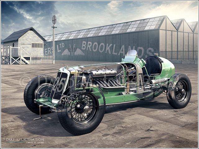 E.R.A. Brooklands Cutaway | Flickr – Compartilhamento de fotos!