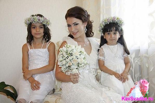 Невеста ее маленькие ангелочки