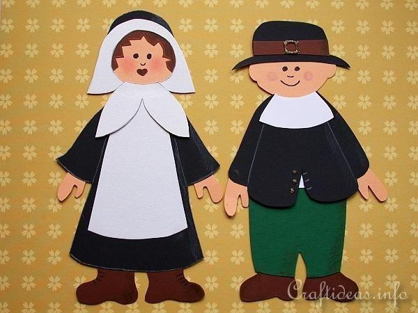 Thanksgiving Pilgrim Couple   Get ready to celebrate ...