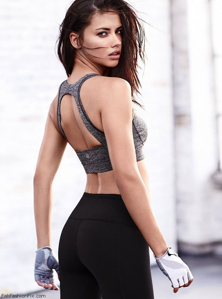 FabFashionFix - Fabulous Fashion Fix | Adriana Lima flaunts her toned figure for Victoria's Secret VSX collection